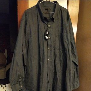 George Charcoal Shirt-4XL